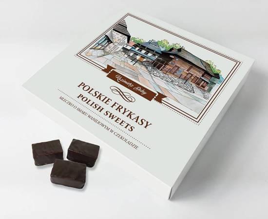 Kazimierz Dolny mleczko waniliowe w czekoladzie